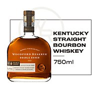 Woodford Reserve Barrel Finish Select Whiskey Bourbon Kentucky Double Oaked 90.4 Proof - 750 Ml