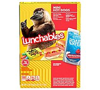 Lunchables Lunch Combinations Hot Dogs Mini - 9.3 Oz