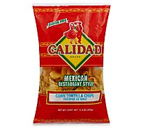 Calidad Tortilla Chips Corn Mexican Restaurant Style - 11.5 Oz