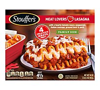 STOUFFERS Meal Family Size Lasagna Meat Lovers - 38 Oz