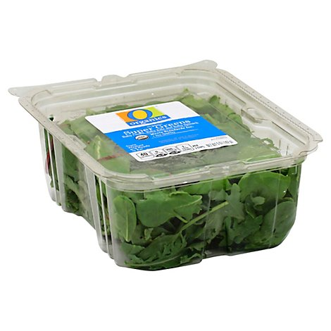 O Organics Organic Super Greens Baby Spinach Baby Kale & Red and Green Chard - 5 Oz