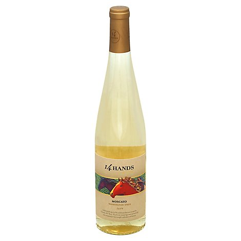 14 Hands Wine Moscato - 750 Ml