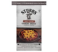 Stubbs Cookin Sauce Chili Fixins - 12 Oz