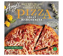 Amys Pizza Margherita Vegan Frozen - 13.5 Oz