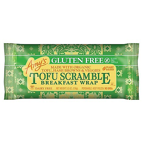 Amys Breakfast Wrap Tofu Scramble - 5.5 Oz