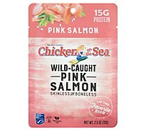 Chicken of the Sea Salmon Pink Sustainably Wild-Caught Skinless & Boneless - 2.5 Oz