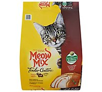 Meow Mix Cat Food Tender Centers 100% Complete Nutrition Salmon & Turkey Vitality Burst - 13.5 Lb