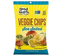 Good Health Veggie Chips Sea Salt - 6.75 Oz
