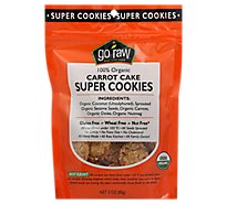 Go Raw 100% Organic Carrot Cake Super Cookies - 3 Oz