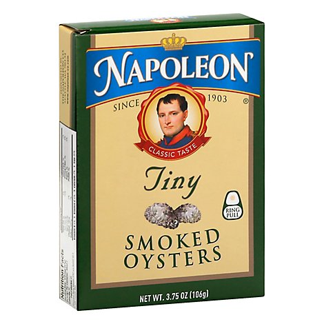 Napoleon Oysters Smoked Tiny - 3.66 Oz