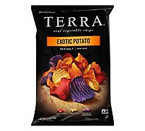 TERRA Vegetable Chips Exotic Potato Sea Salt - 5.5 Oz