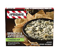 T.G.I. Fridays Frozen Appetizers Spinach & Artichoke Cheese Dip - 8 Oz