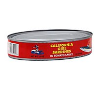 California Girl Sardines in Tomato Sauce - 15 Oz