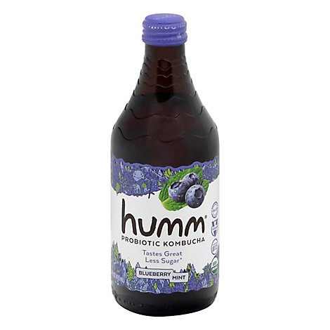 Humm Kombucha Organic Blueberry Mint - 14 Fl. Oz.