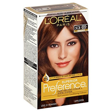 LOreal Preference Medium Chestnut Brown 5cb - Each