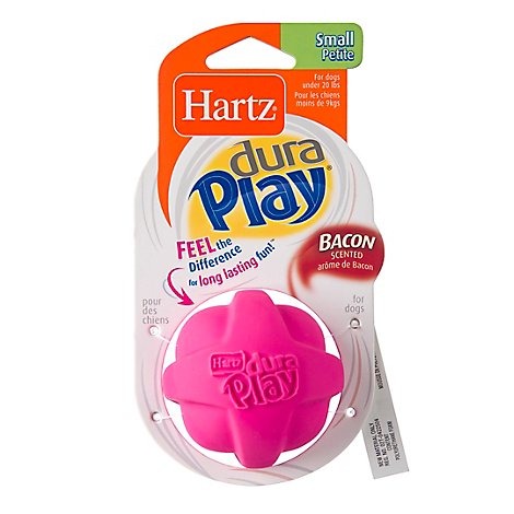 Hartz Flexa Foam Dog Toy Latex Ball Small Blister Pack - Each