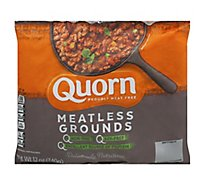 Quorn Meatless Grounds Non GMO Soy Free - 12 Oz