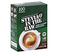 Stevia In The Raw Natural 100% Zero Calorie Sweetner - 100 Count