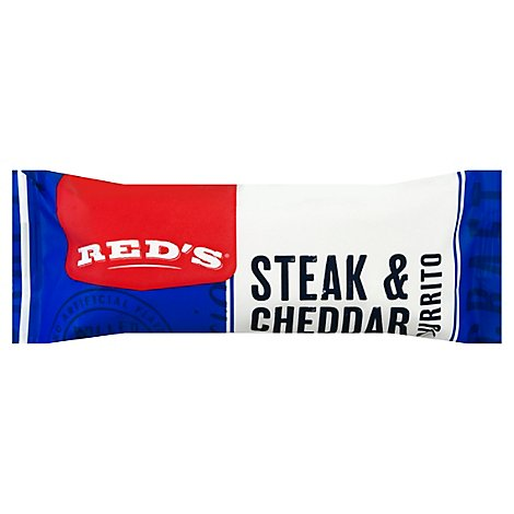 Reds All Natural Steak & Cheese - 5 Oz