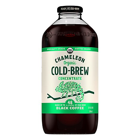 Chameleon Coffee Concentrate Cold-Brew Black - 32 Oz