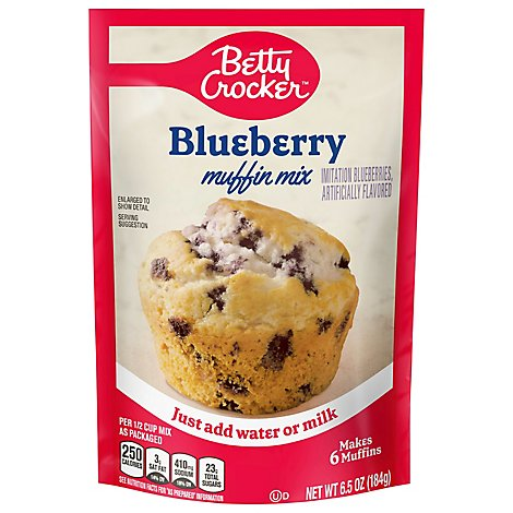 Betty Crocker Muffin Mix Blueberry - 6.5 Oz