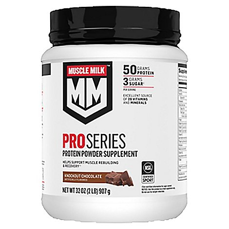 Muscle Milk Pro Series 50 Knockout Chocolate - 2 Lb