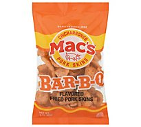 Macs Pork Skins Bar-B-Q Flavored - 2.5 Oz