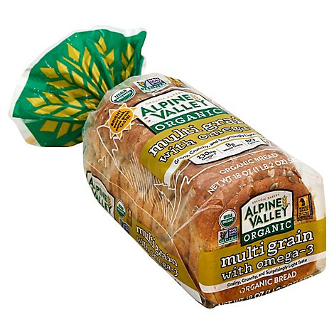 Alpine Valley Bread Multigrain With Omega 3 - 18 Oz