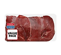 Meat Counter Beef USDA Choice Steak Cross Rib Boneless Value Pack - 3.00 LB