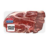 Meat Counter Beef USDA Choice Chuck 7-Bone Steak Extreme Value Pack - 4.50 LB