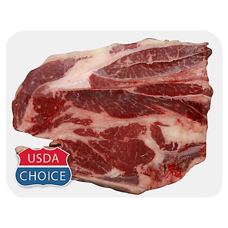 Meat Counter Beef USDA Choice Chuck Blade Roast - 3.50 LB