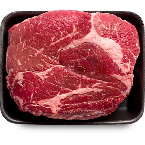 Meat Counter Beef USDA Choice Roast Chuck Top Blade Boneless - 2.50 LB