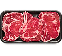 Meat Counter Beef USDA Choice Steak Ribeye Boneless Value Pack - 3.00 LB