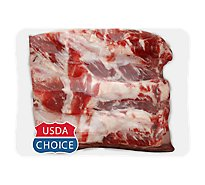 Meat Counter Beef USDA Choice Ribs Back Ribs - 2.50 LB