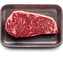 USDA Choice Beef Top Loin New York Strip Steak Boneless Prepacked - 1.00 Lb