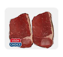 Meat Counter Beef USDA Choice Bottom Round Steak - 1 LB