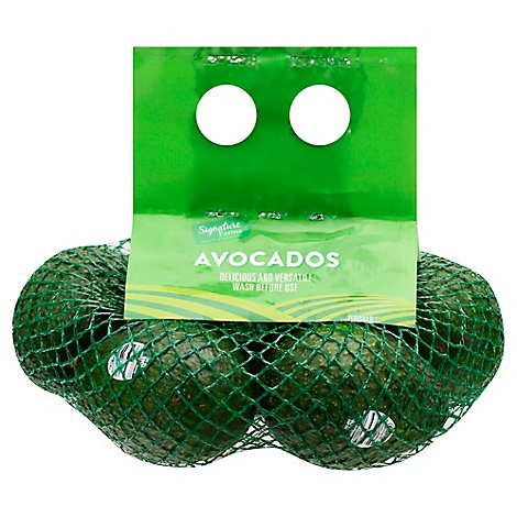 Signature Farms Avocados Bagged - 4 Count