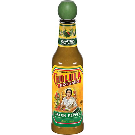 Cholula Sauce Hot Green Pepper - 5 Fl. Oz.