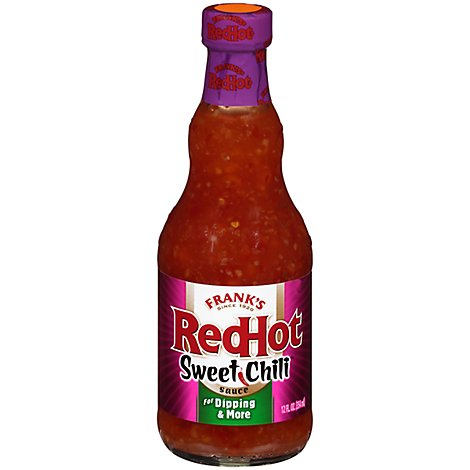 Franks RedHot Sauce Sweet Chili - 12 Fl. Oz.