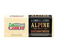 Cabot Legacy Collection Cheese Alpine Cheddar - 6 Oz