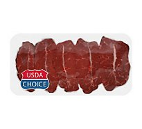 Meat Counter Beef USDA Choice Top Blade Steak Cubed - 0.50 LB