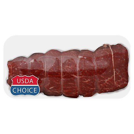Meat Counter Beef USDA Choice Chuck Mock Tender Roast - 2.50 LB