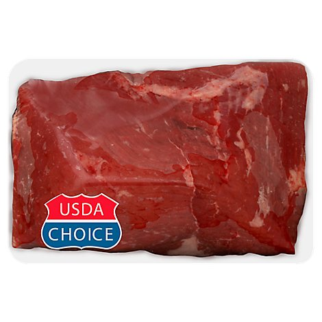 Meat Counter Beef USDA Choice Round Bottom Round Flat Whole - 13.50 LB