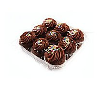 Bakery Cupcake Chocolate 10 Count - Each