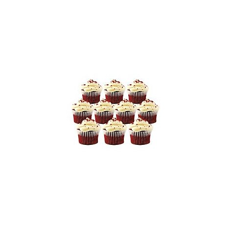 Bakery Cupcake Red Velvet 10 Count - Each
