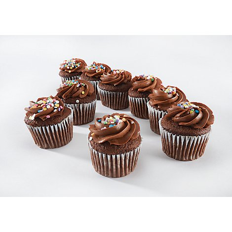 Bakery Cupcake Chocolate 24 Count - Each