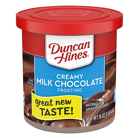 Duncan Hines Frosting Creamy Home Style Milk Chocolate - 16 Oz