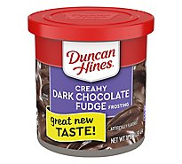 Duncan Hines Creamy Frosting Home-Style Dark Chocolate Fudge - 16 Oz