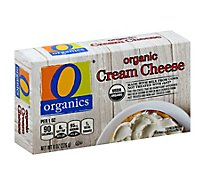O Organics Organic Cheese Cream - 8 Oz