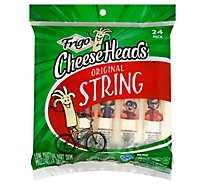 Frigo Cheese Heads Mozzarella String Cheese 24 Pack - 24 Oz